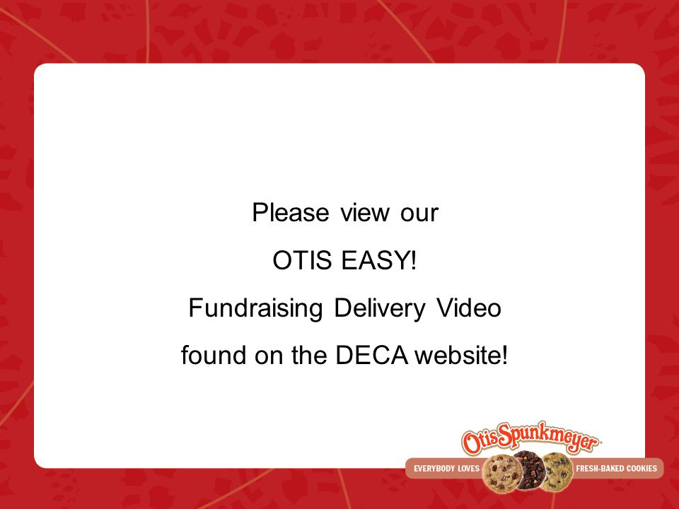 Fundraising Delivery Video found on the DECA website!