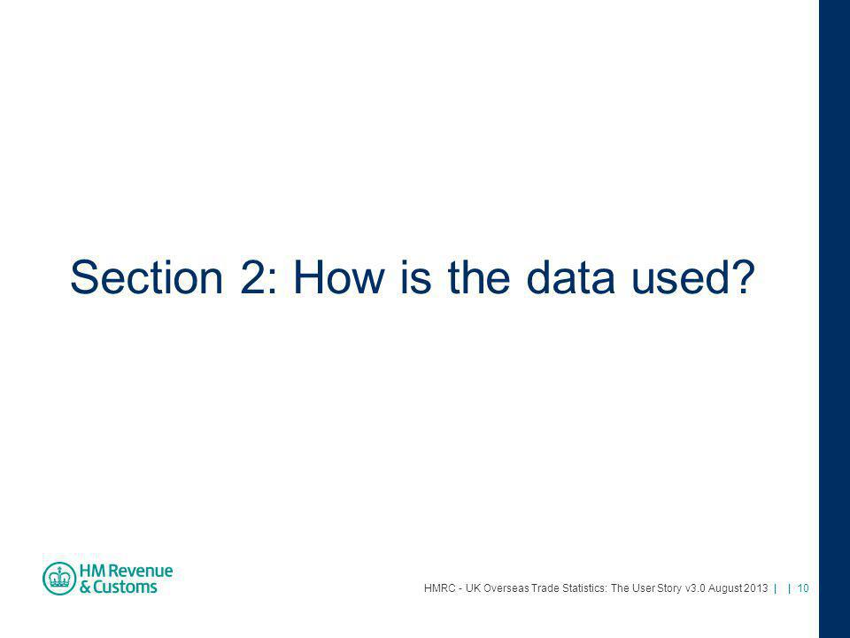 Section 2: How is the data used