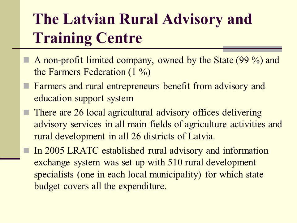 The Latvian Rural Advisory and Training Centre