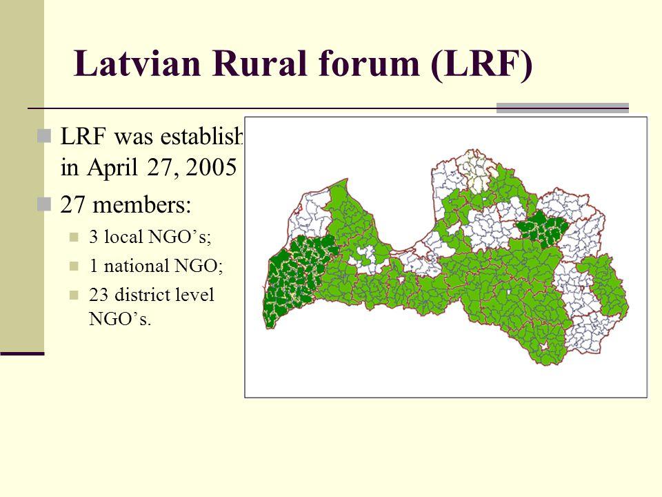 Latvian Rural forum (LRF)