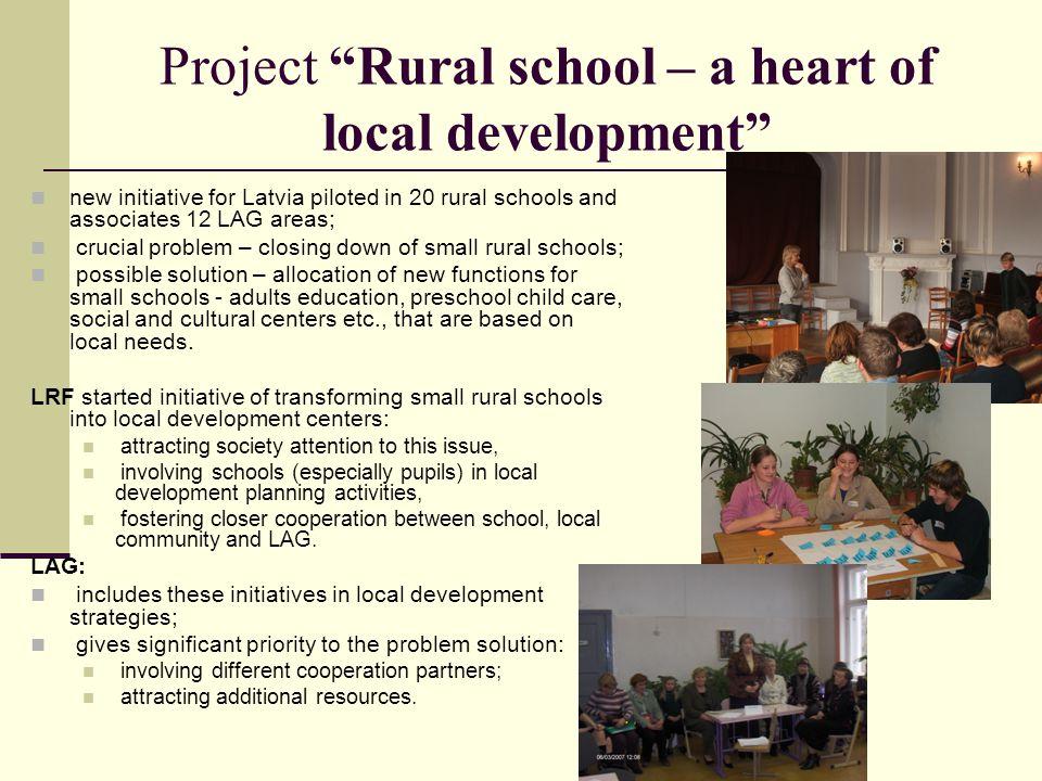 Project Rural school – a heart of local development