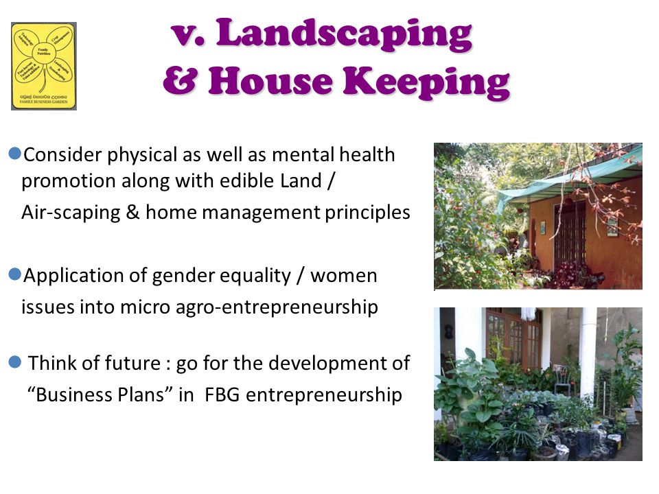 v. Landscaping & House Keeping