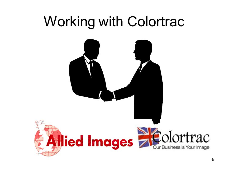 Working with Colortrac