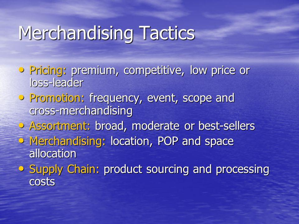 Merchandising Tactics