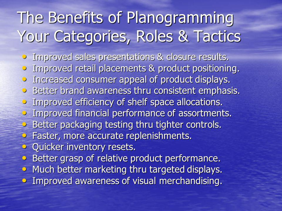 The Benefits of Planogramming Your Categories, Roles & Tactics