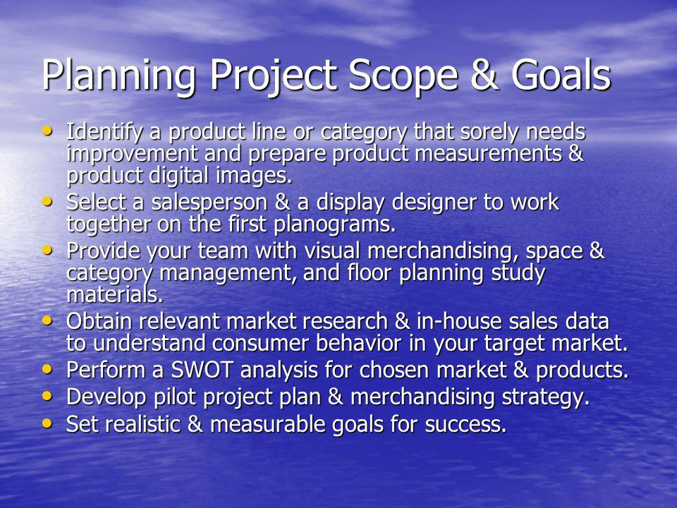 Planning Project Scope & Goals