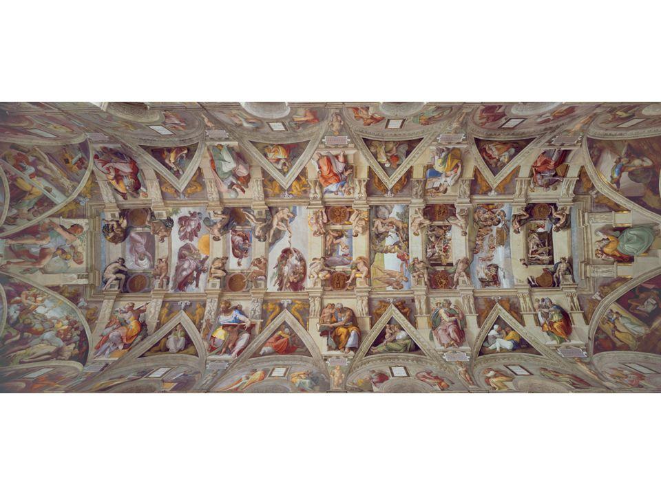Michelangelo, Sistine Chapel ceiling, Vatican, Rome, 1508-1512.