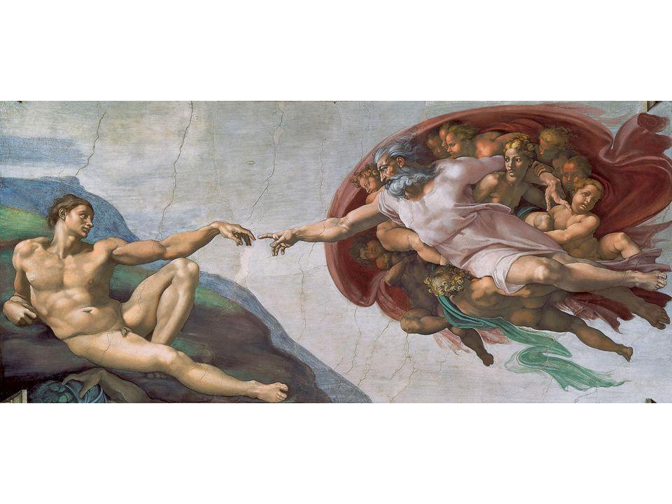 Michelangelo, Creation of Adam, Sistine Chapel, Rome