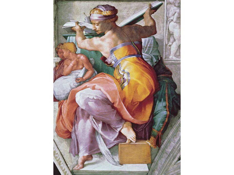 Michelangelo, Lybian Sybil