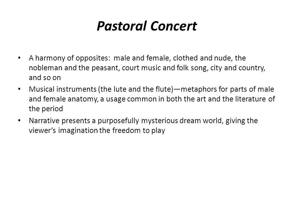 Pastoral Concert