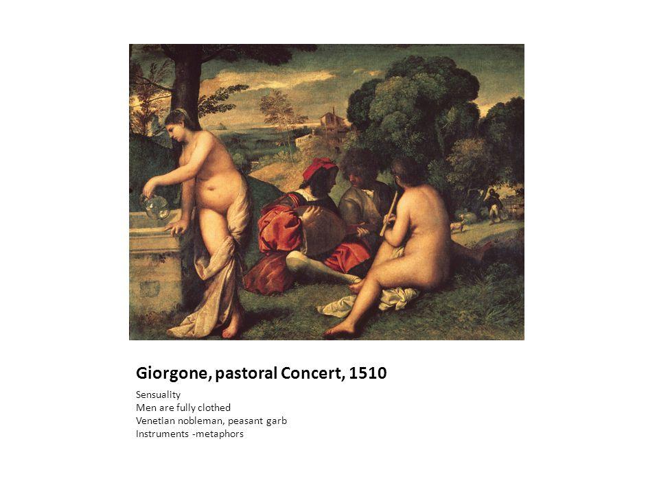 Giorgone, pastoral Concert, 1510