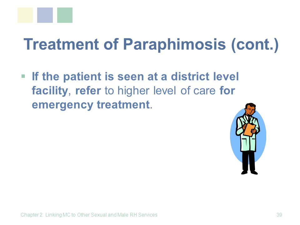 Treatment of Paraphimosis (cont.)