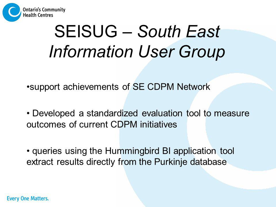 SEISUG – South East Information User Group