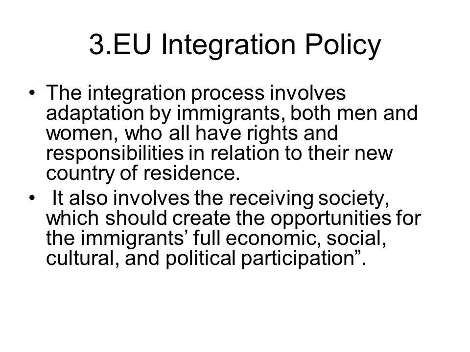 3.EU Integration Policy