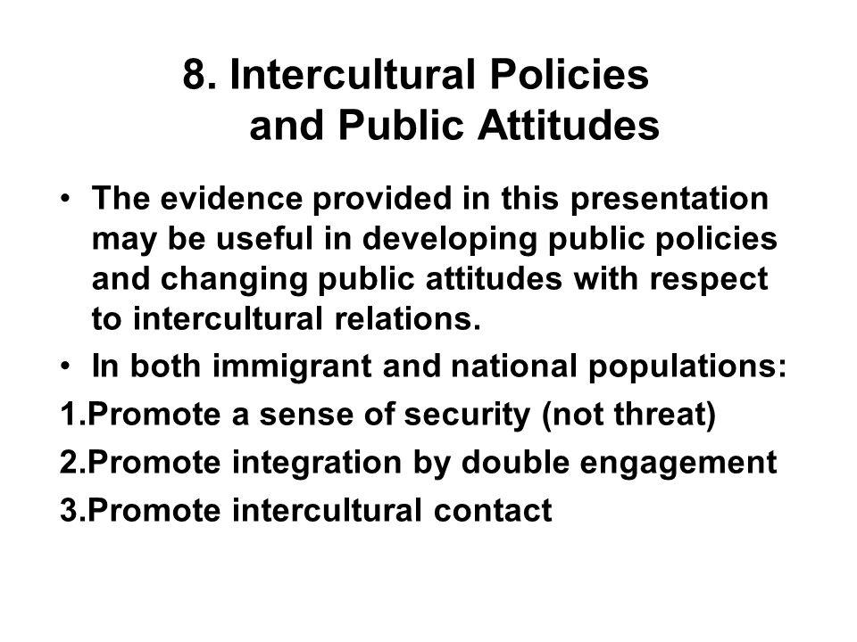 8. Intercultural Policies and Public Attitudes