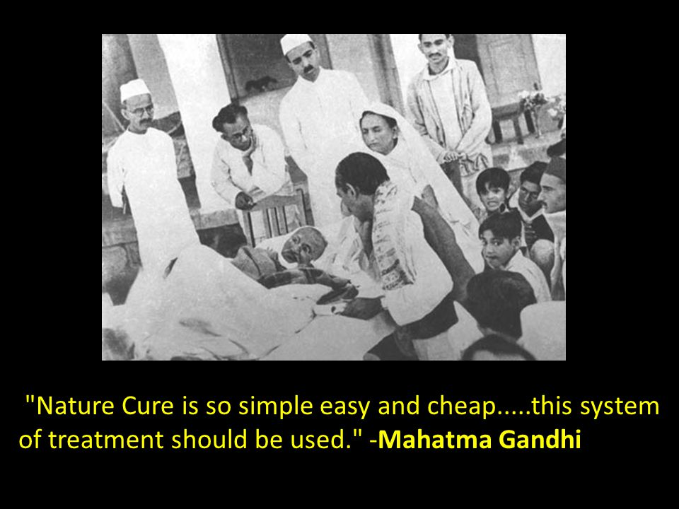 Nature Cure is so simple easy and cheap