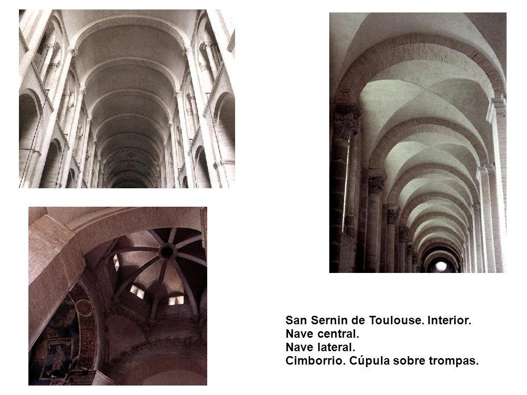 San Sernin de Toulouse. Interior.