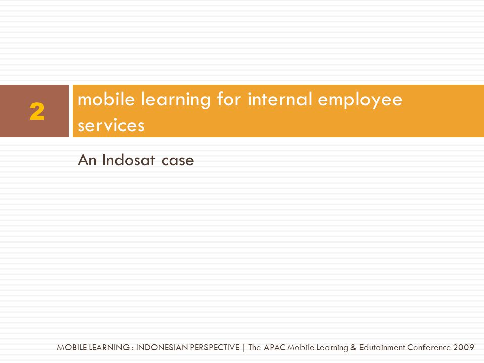 mobile learning for internal employee services