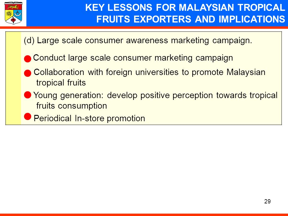 Conduct large scale consumer marketing campaign