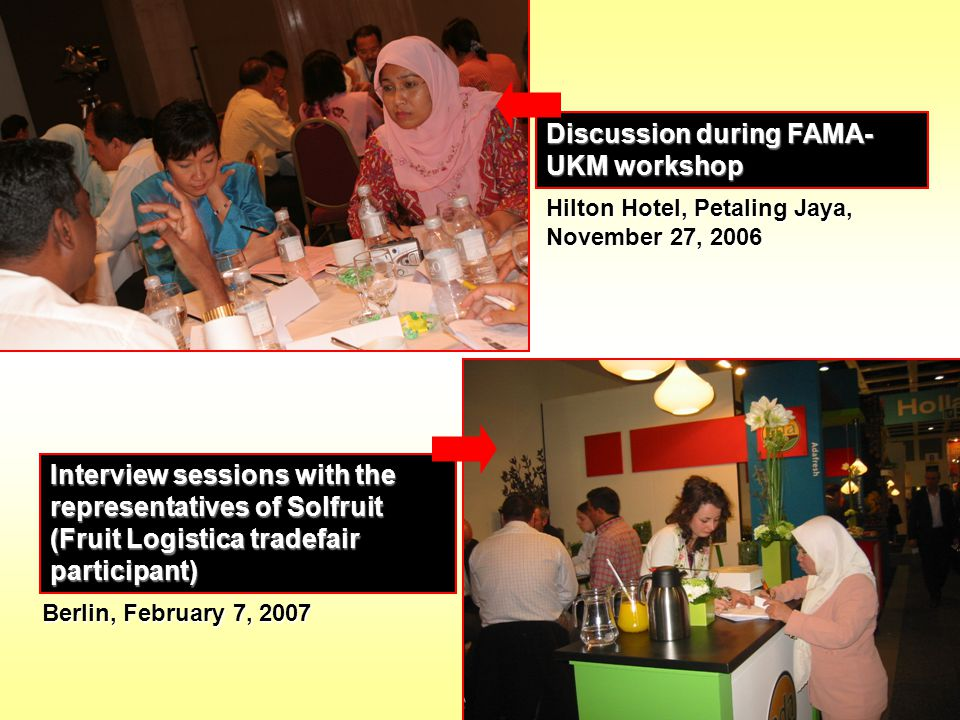 Discussion during FAMA-UKM workshop