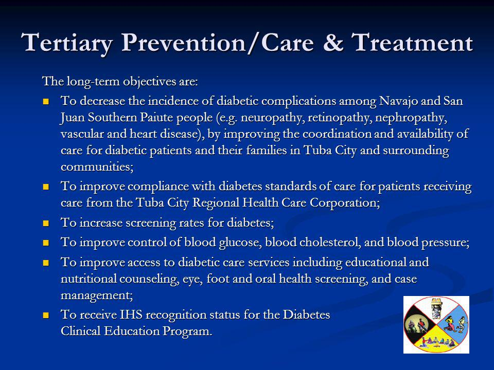 Tertiary Prevention/Care & Treatment