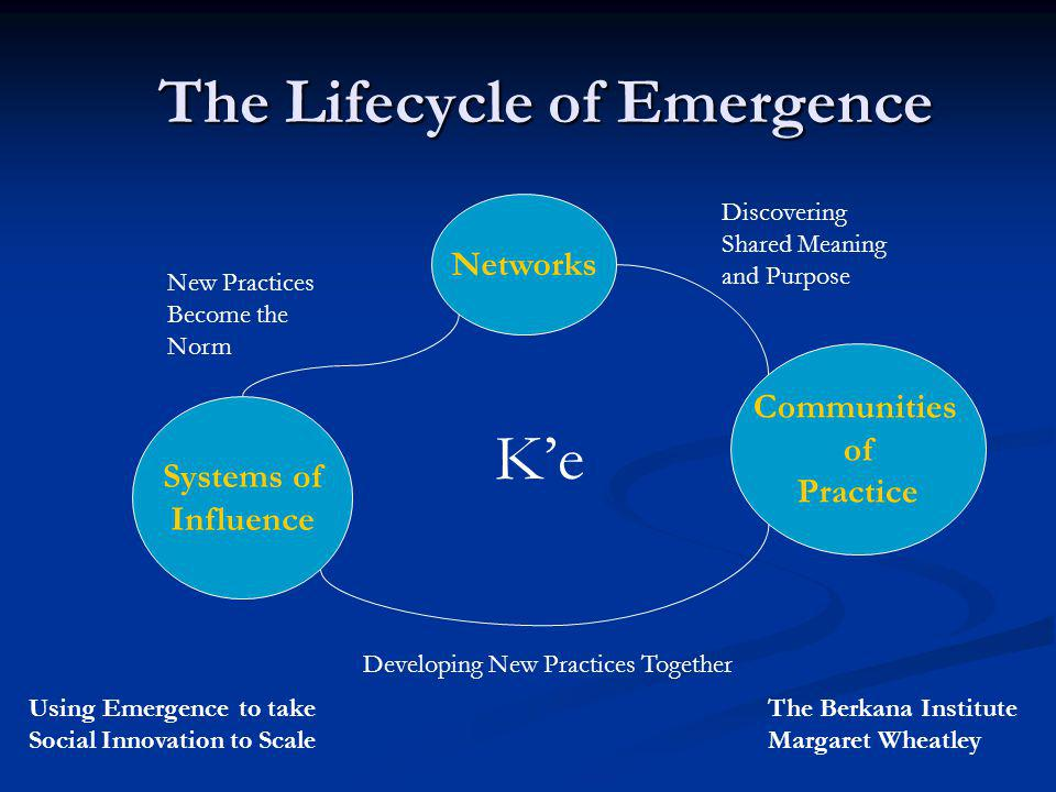 The Lifecycle of Emergence