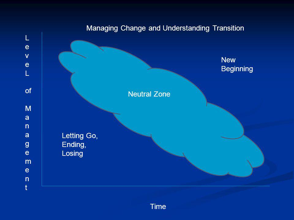 Managing Change and Understanding Transition