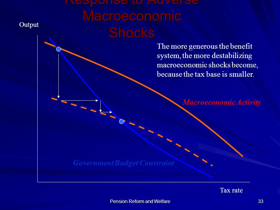 Response to Adverse Macroeconomic Shocks