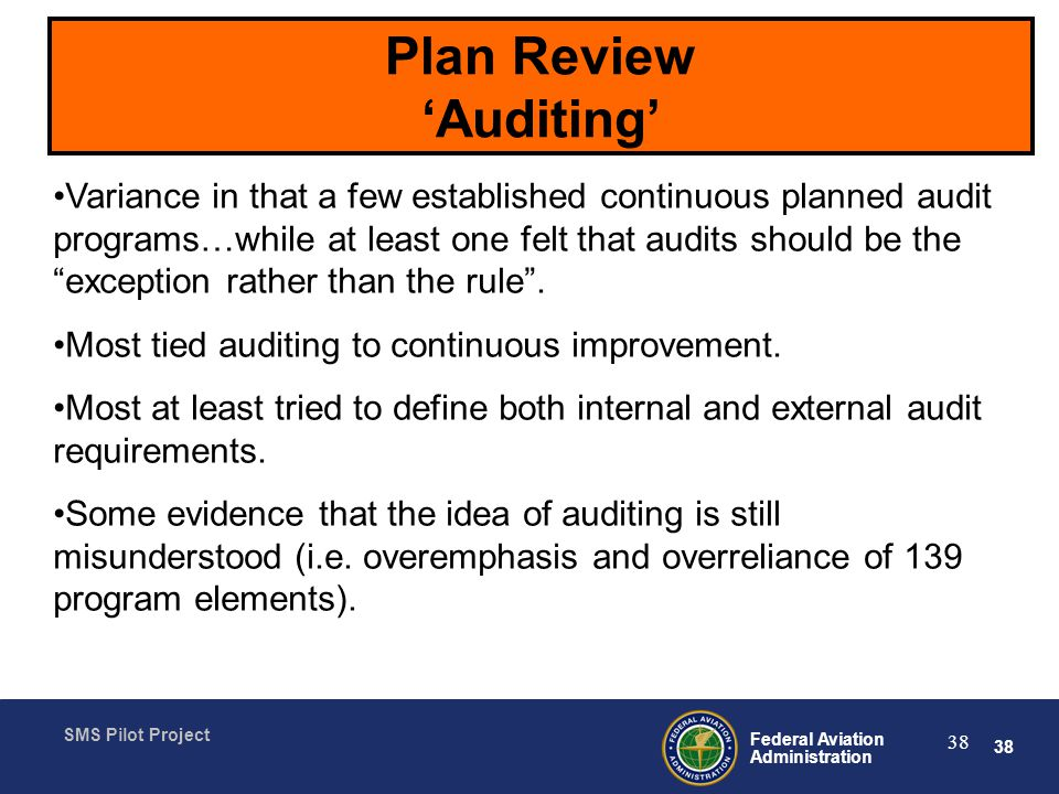 Plan Review 'Auditing'