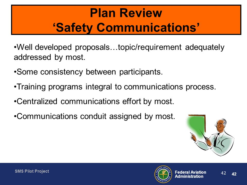 Plan Review 'Safety Communications'