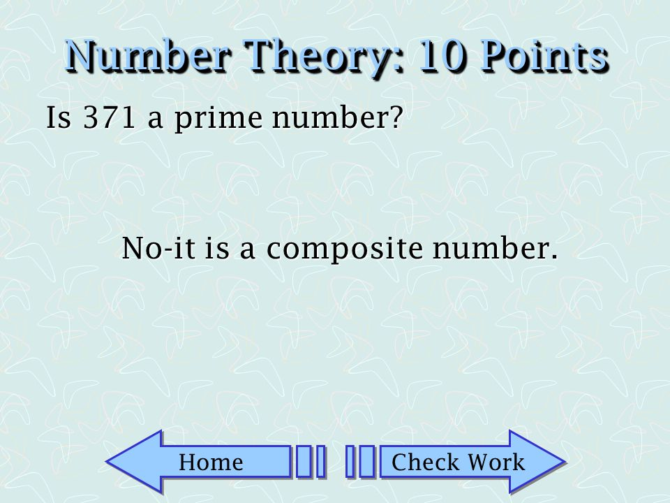 No-it is a composite number.