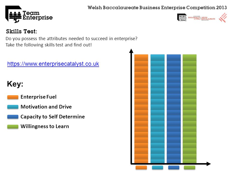Key: Skills Test: https://www.enterprisecatalyst.co.uk Enterprise Fuel