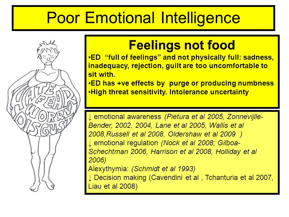 Poor Emotional Intelligence