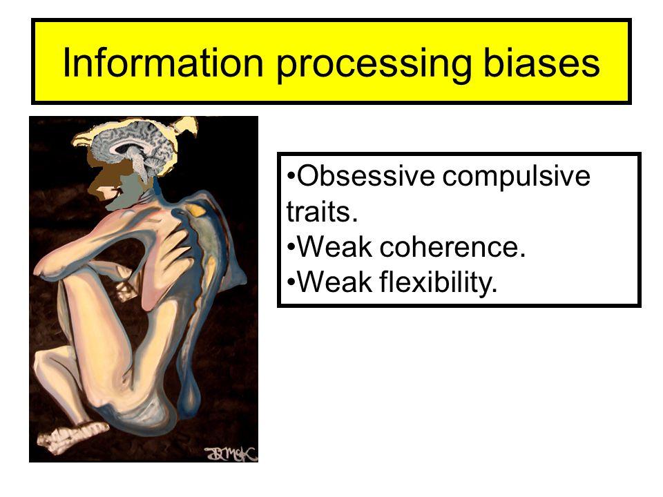 Information processing biases