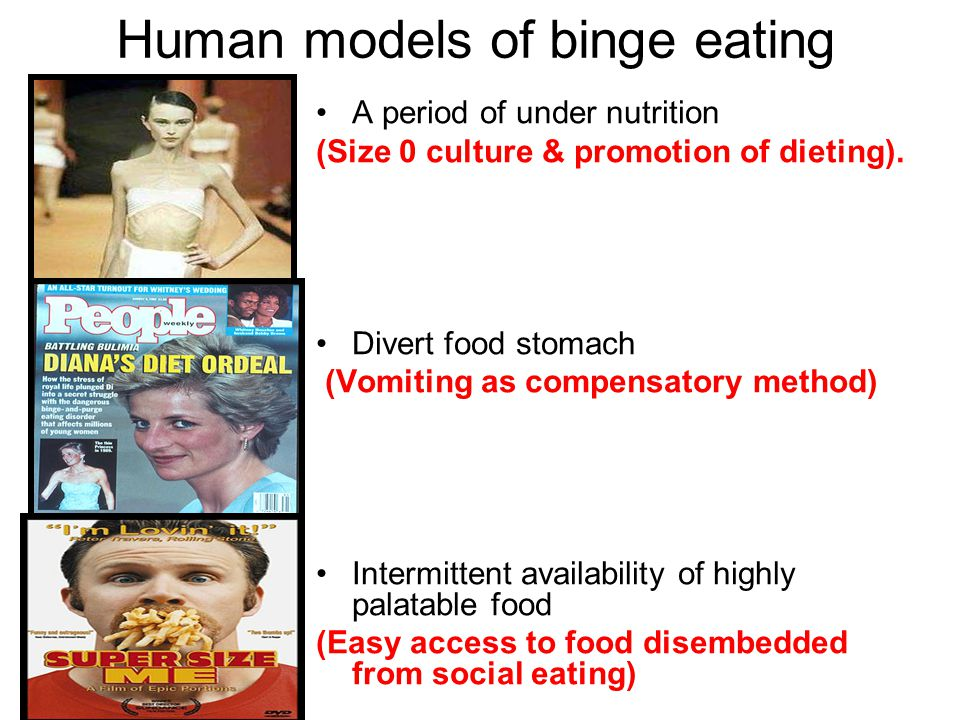 Human models of binge eating