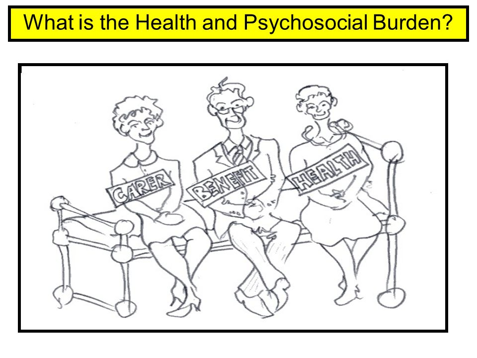 What is the Health and Psychosocial Burden