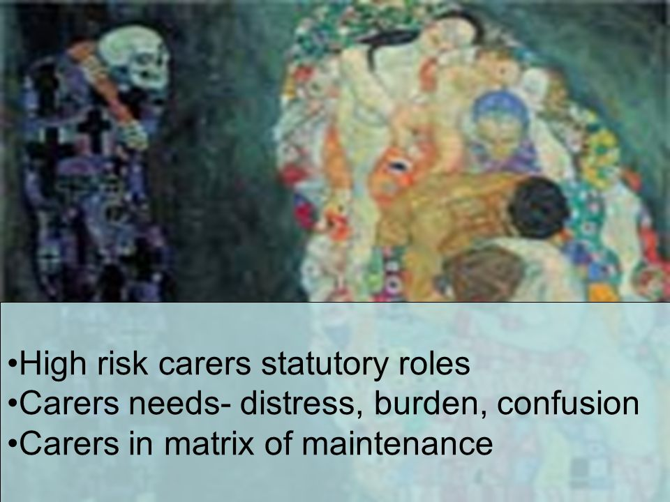 High risk carers statutory roles