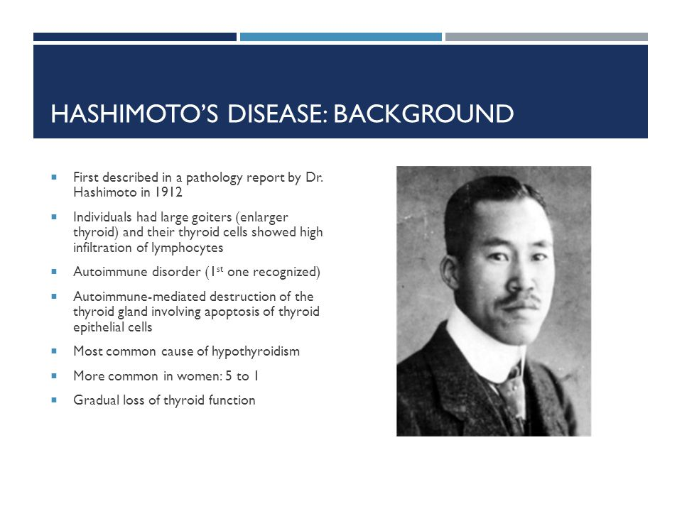 Hashimoto's Disease: Background