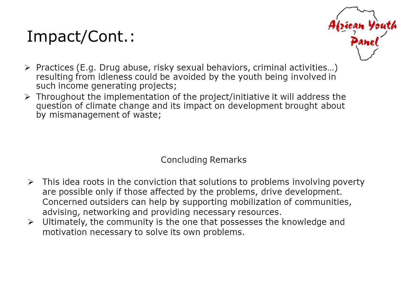 Impact/Cont.: