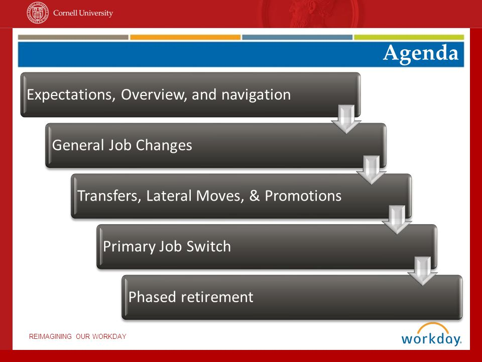 Agenda Expectations, Overview, and navigation General Job Changes