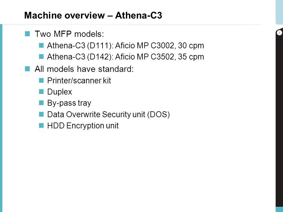 Machine overview – Athena-C3