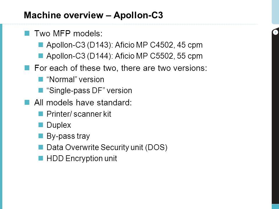 Machine overview – Apollon-C3