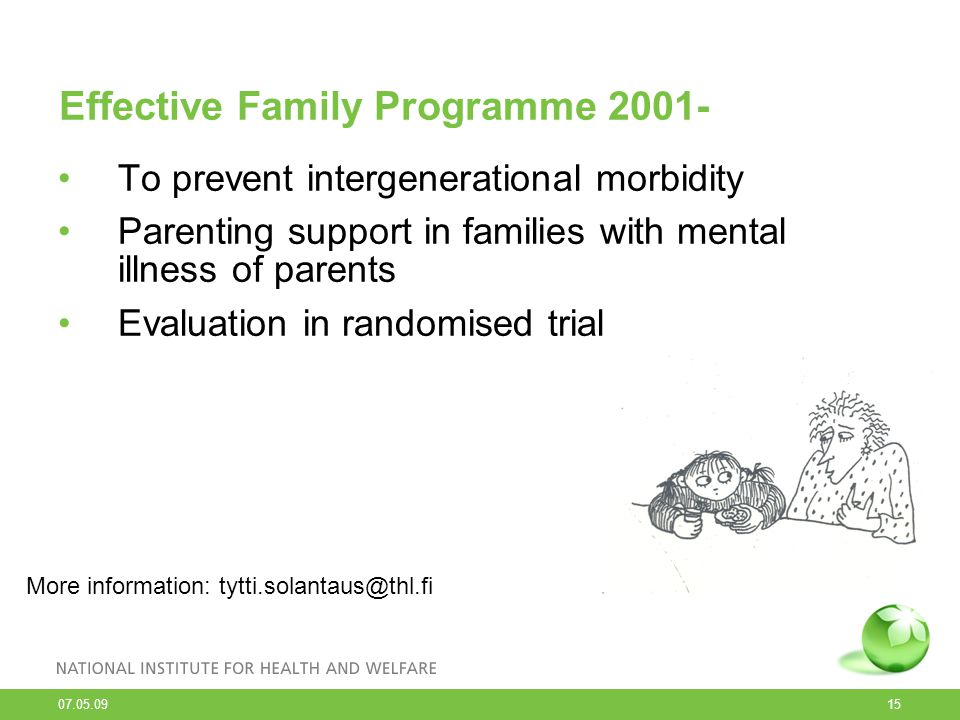 Effective Family Programme 2001-