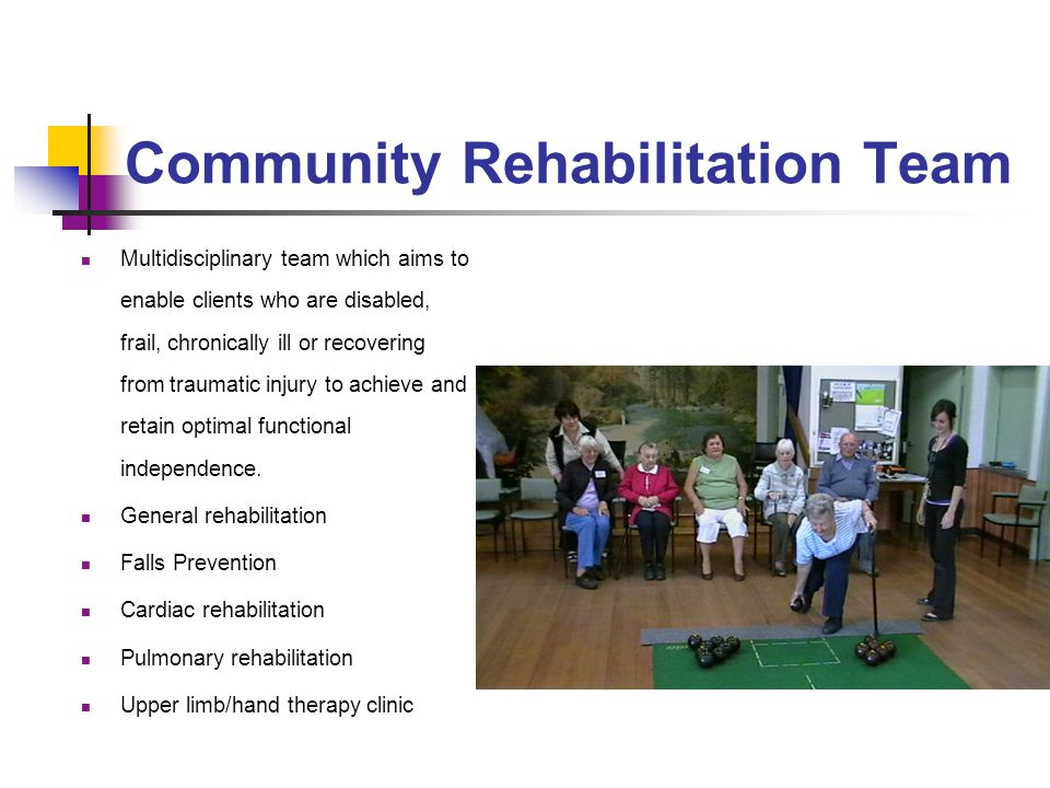Community Rehabilitation Team