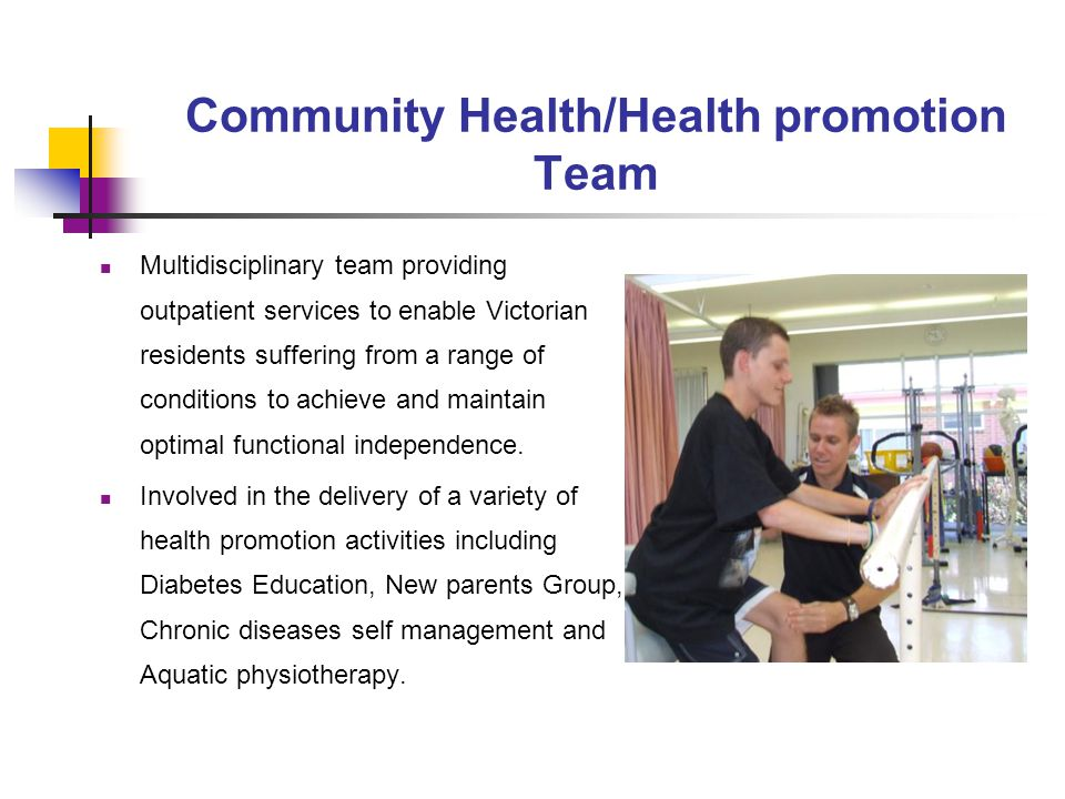 Community Health/Health promotion Team