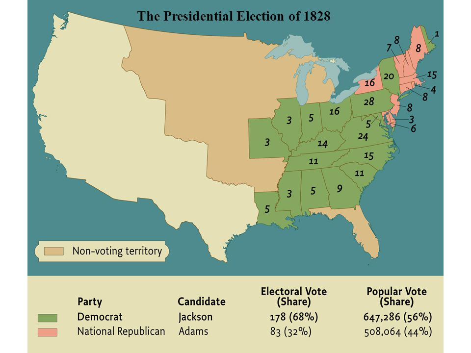 The Presidential Election of 1828 • pg. 363