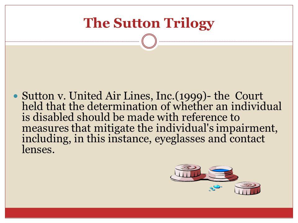 The Sutton Trilogy