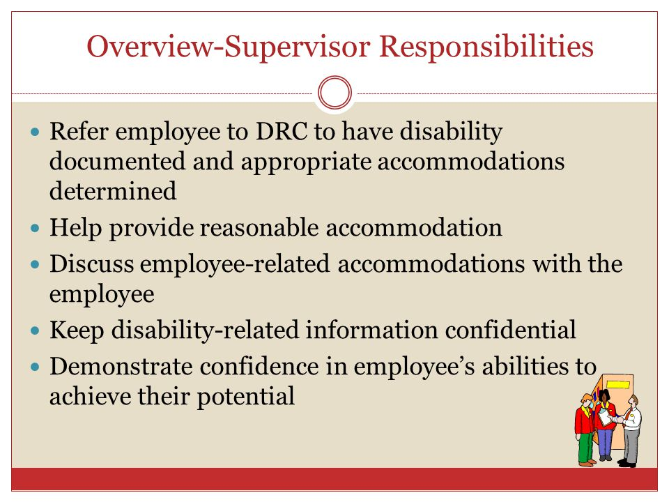 Overview-Supervisor Responsibilities