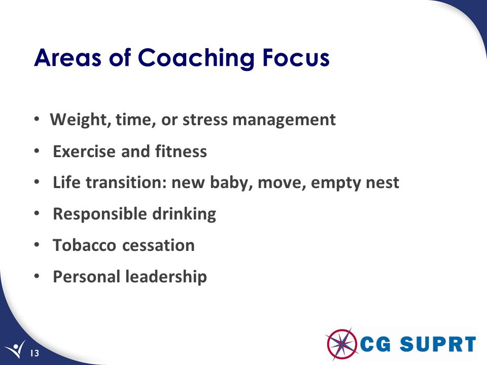 Areas of Coaching Focus