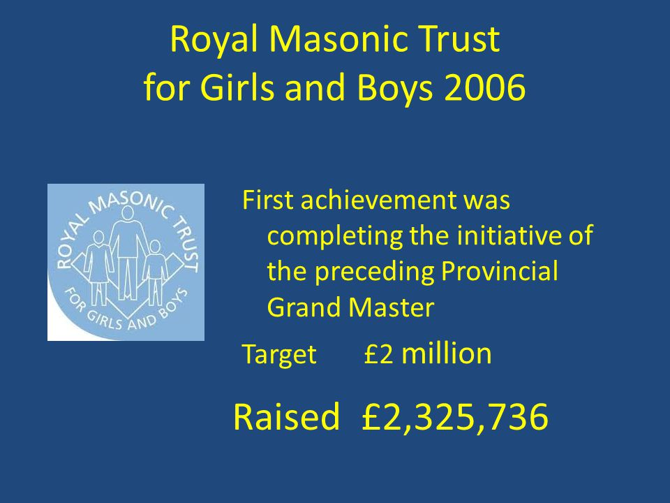 Royal Masonic Trust for Girls and Boys 2006
